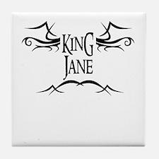 King Jane Tile Coaster