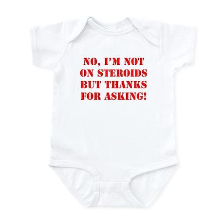 Steroids Infant Bodysuit