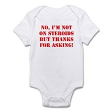 Steroids Infant Bodysuit