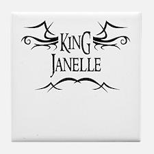 King Janelle Tile Coaster