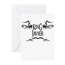 King Javier Greeting Cards (Pk of 10)