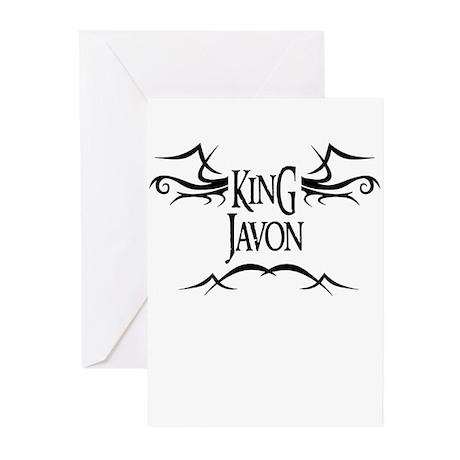 King Javon Greeting Cards (Pk of 10)