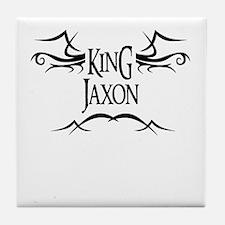 King Jaxon Tile Coaster