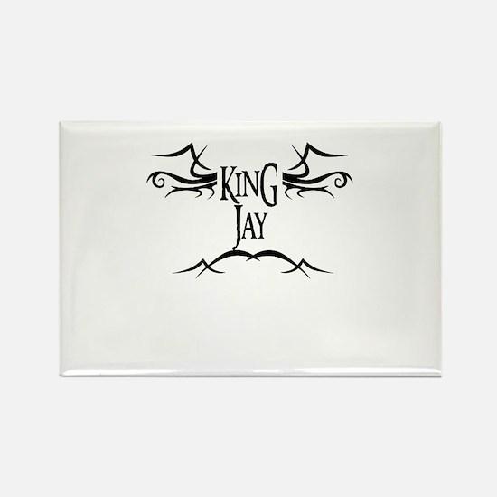 King Jay Rectangle Magnet