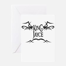 King Jayce Greeting Card
