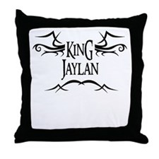 King Jaylan Throw Pillow