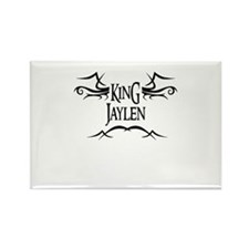 King Jaylen Rectangle Magnet