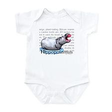 Hippopotamus Infant Bodysuit