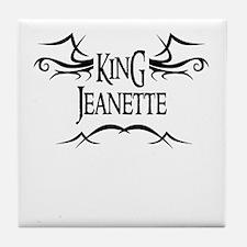 King Jeanette Tile Coaster