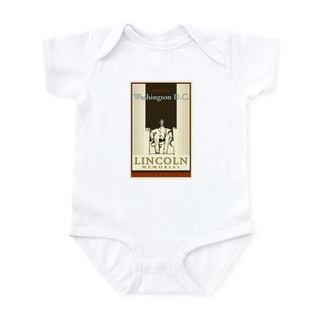 Travel Washington DC Infant Bodysuit