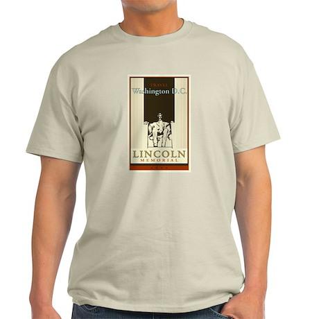 Travel Washington DC Light T-Shirt