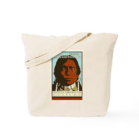 Travel Oklahoma Tote Bag