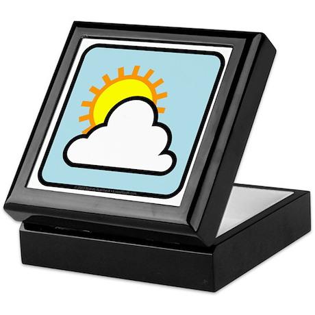 Partly Sunny Keepsake Box