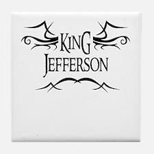 King Jefferson Tile Coaster