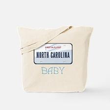 North Carolina Baby Tote Bag