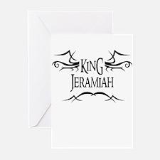 King Jeramiah Greeting Cards (Pk of 10)