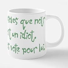 bushfrenchidiottrans.png 20 oz Ceramic Mega Mug