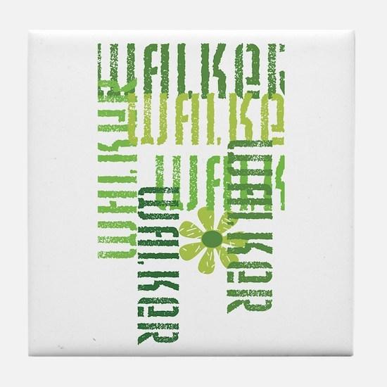Green Walker Tile Coaster