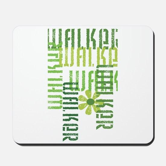 Green Walker Mousepad