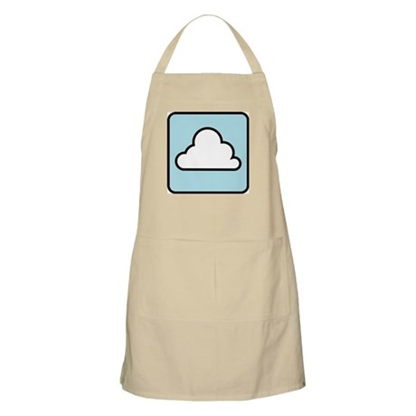 Cloudy (w/text) BBQ Apron