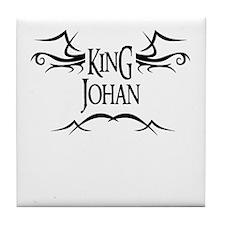 King Johan Tile Coaster