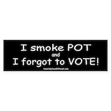 I Forgot to Vote (black)