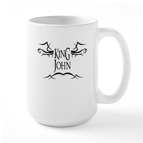 King John Large Mug