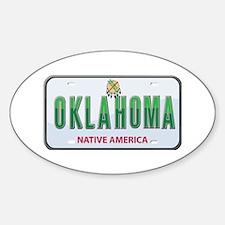 Oklahoma Oval Decal