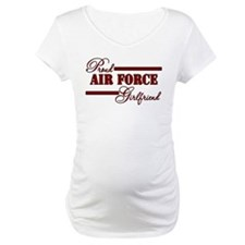 Proud Air Force Girlfriend (Red N Black) Shirt
