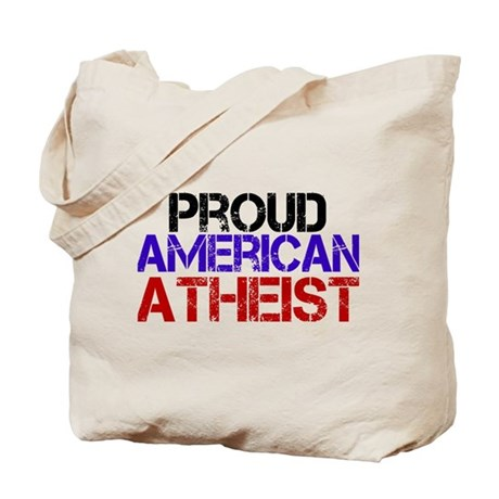 Proud American Athest Tote Bag