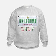 Oklahoma Baby Sweatshirt