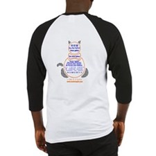 I Love Cats Baseball Jersey