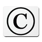 Copyright Symbol Mousepad