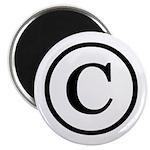 Copyright Symbol Magnet