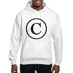Copyright Symbol Hooded Sweatshirt