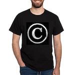 Copyright Symbol Dark T-Shirt