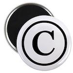 """Copyright Symbol 2.25"""" Magnet (10 pack)"""