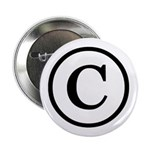"Copyright Symbol 2.25"" Button (100 pack)"