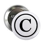 "Copyright Symbol 2.25"" Button"