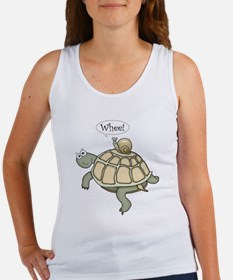 "Turtle and Snail ""Whee!"" Women's Tank Top"