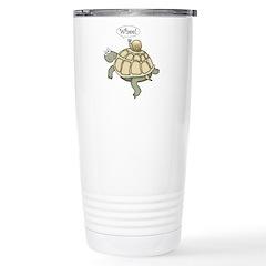 "Turtle and Snail ""Whee!"" Travel Mug"
