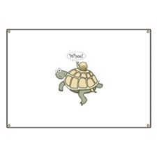 """Turtle and Snail """"Whee!"""" Banner"""