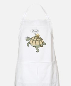 "Turtle and Snail ""Whee!"" BBQ Apron"