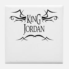 King Jordan Tile Coaster