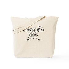 King Jordan Tote Bag