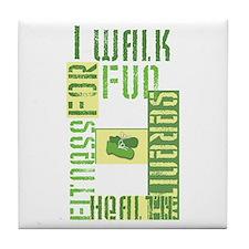 I Walk For Fun... Tile Coaster