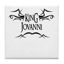 King Jovanni Tile Coaster