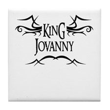 King Jovanny Tile Coaster
