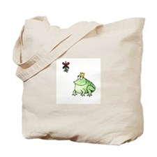 Unique Frog prince Tote Bag
