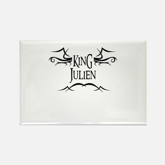King Julien Rectangle Magnet